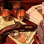 Vintage Gambling Set Up  by Vitaliy Gonikman
