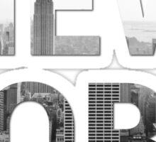 New York City (Black & White) Sticker