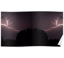 Lightning Art 27 Poster