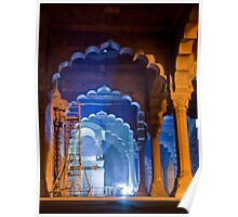 Restoring The Red Fort Poster