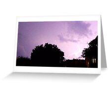 Lightning Art 30 Greeting Card