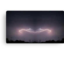 Lightning Art 33 Canvas Print