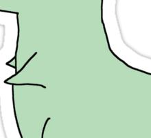Dinostache Sticker