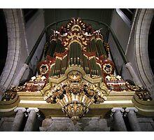 Moreau-orgel St. Janskerk Gouda  Photographic Print