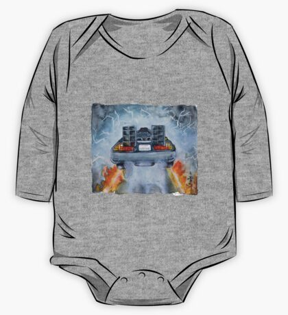 Back To The Future - OUTATIME One Piece - Long Sleeve