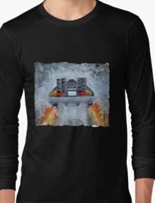 Back To The Future - OUTATIME Long Sleeve T-Shirt