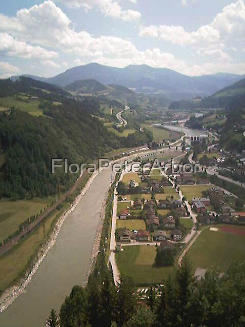 Salzach River  by FloraPeterArbor
