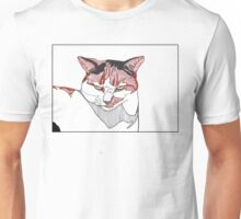 Cat with an attitude Unisex T-Shirt