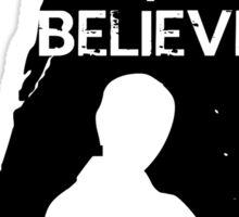 I believe in Sherlock - tee Sticker