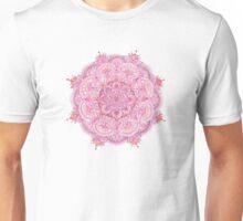 Watercolour Mandala Pink Unisex T-Shirt