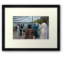 Aimen & Jessie Mouton -  Everyone Loves being a Photographer Framed Print