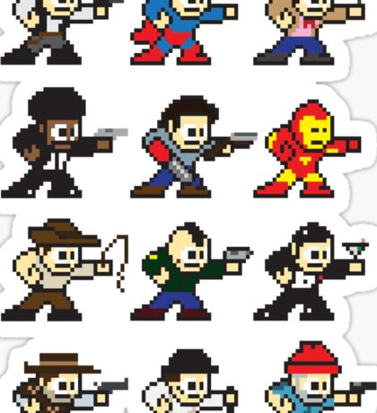 Megamen Sticker