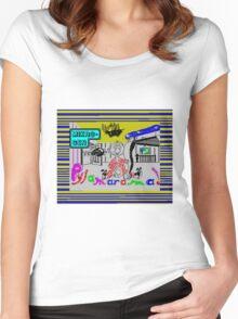 Pyjamarama Women's Fitted Scoop T-Shirt