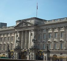 Buckingham Palace In The English Sunshine by Sarah Louise English