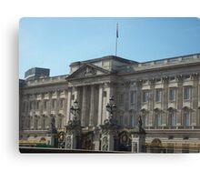 Buckingham Palace In The English Sunshine Canvas Print