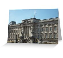 Buckingham Palace In The English Sunshine Greeting Card