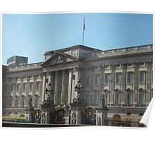 Buckingham Palace In The English Sunshine Poster