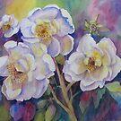 White Roses by bevmorgan