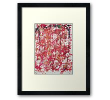 Bull fight. Framed Print