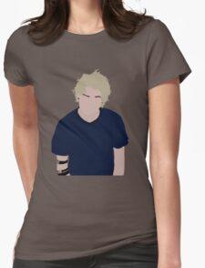 Michael Clifford Minimalist Womens Fitted T-Shirt