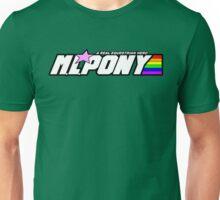 "M.L. Pony - A Real Equestrian Hero - ""brand new"" version Unisex T-Shirt"