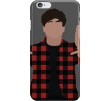 Calum Hood Minimalist iPhone Case/Skin