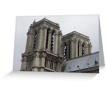The Towers of Notre-Dame Greeting Card