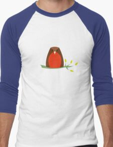 Meet Robin Men's Baseball ¾ T-Shirt