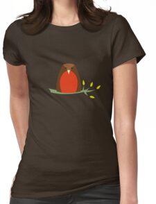 Meet Robin Womens Fitted T-Shirt