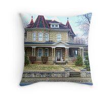WV Victorian Throw Pillow