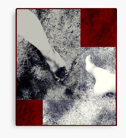 Footstudy Canvas Print