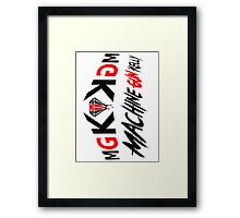 MACHINE GUN KELLIS (MGK) V.2 Framed Print