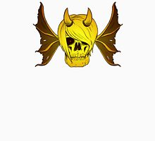 Skull Horns and Wings ( GOLD version ) Unisex T-Shirt