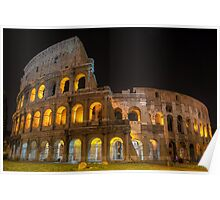 Coliseum in Rome Poster