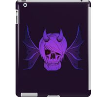 Skull Horns and Wings ( Mystical version ) iPad Case/Skin