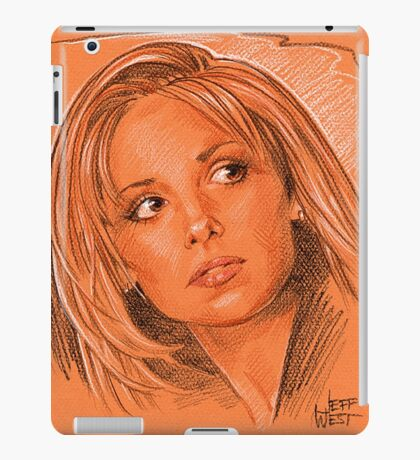 Our favorite vampire slayer, Buffy iPad Case/Skin