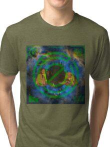 Origin of the Plain. Tri-blend T-Shirt