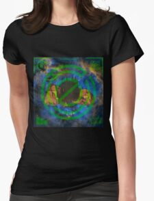 Origin of the Plain. Womens Fitted T-Shirt