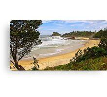 Flynns Beach, Port Macquarie  Canvas Print