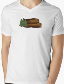 Endor Nature Reserve - a great day out! Mens V-Neck T-Shirt