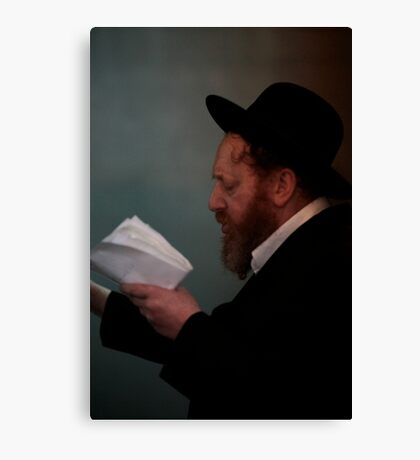 Praying in the Ohel of Rabbi Elimelech. Mazel tow . Harcikn Dank ! A dank ojch zejer!   From my Midrasz  by Doktor Faustus. Favorites: 3 Views: 381 Canvas Print