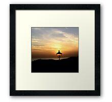 OLD LAMP Framed Print