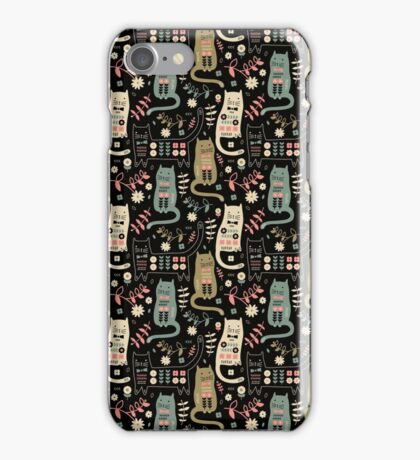 Cat Folk  iPhone Case/Skin