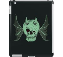 Skull Horns and Wings ( UNDEAD version ) iPad Case/Skin
