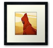 Journey: Alone Framed Print