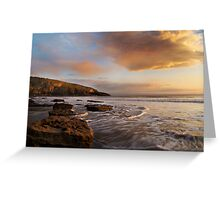 Sunset, Wales Greeting Card