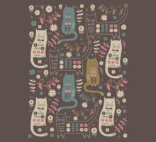 Cat Folk  One Piece - Short Sleeve