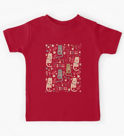 Cat Folk  Kids Tee