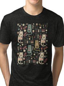 Cat Folk  Tri-blend T-Shirt