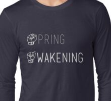 Spring Awakening Deaf West American Sign Language Long Sleeve T-Shirt